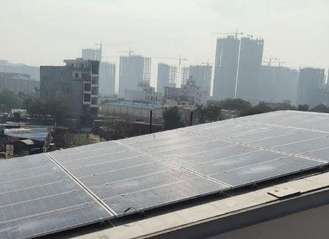 DPS Bunglow Noida - Mahindra Solarize